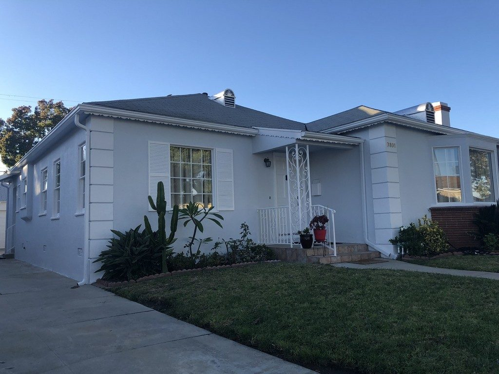 Exterior painting in Los Angeles
