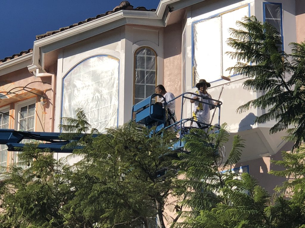 exterior painting in Beverly Hills