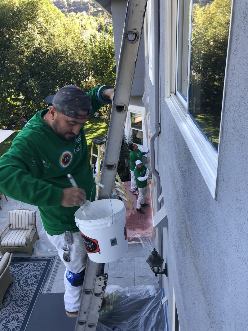 exterior painting in Pasadena