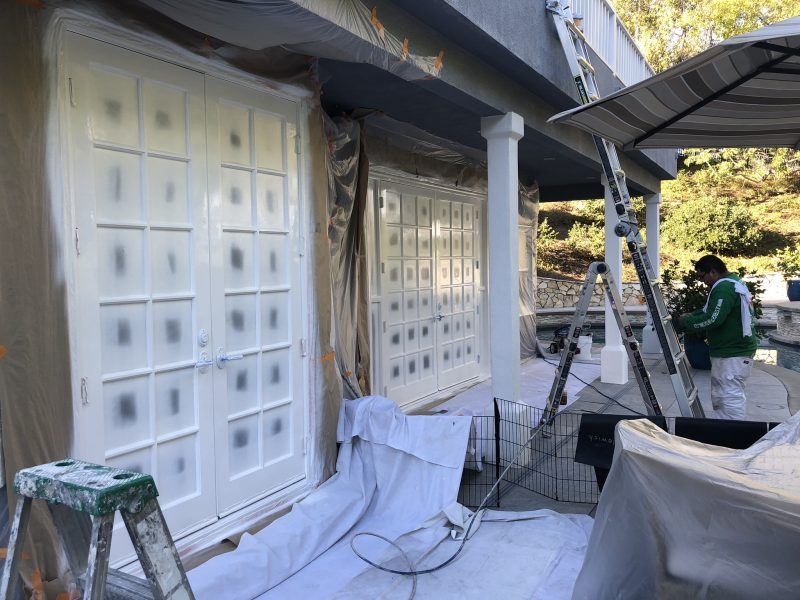 commercial painting in Malibu