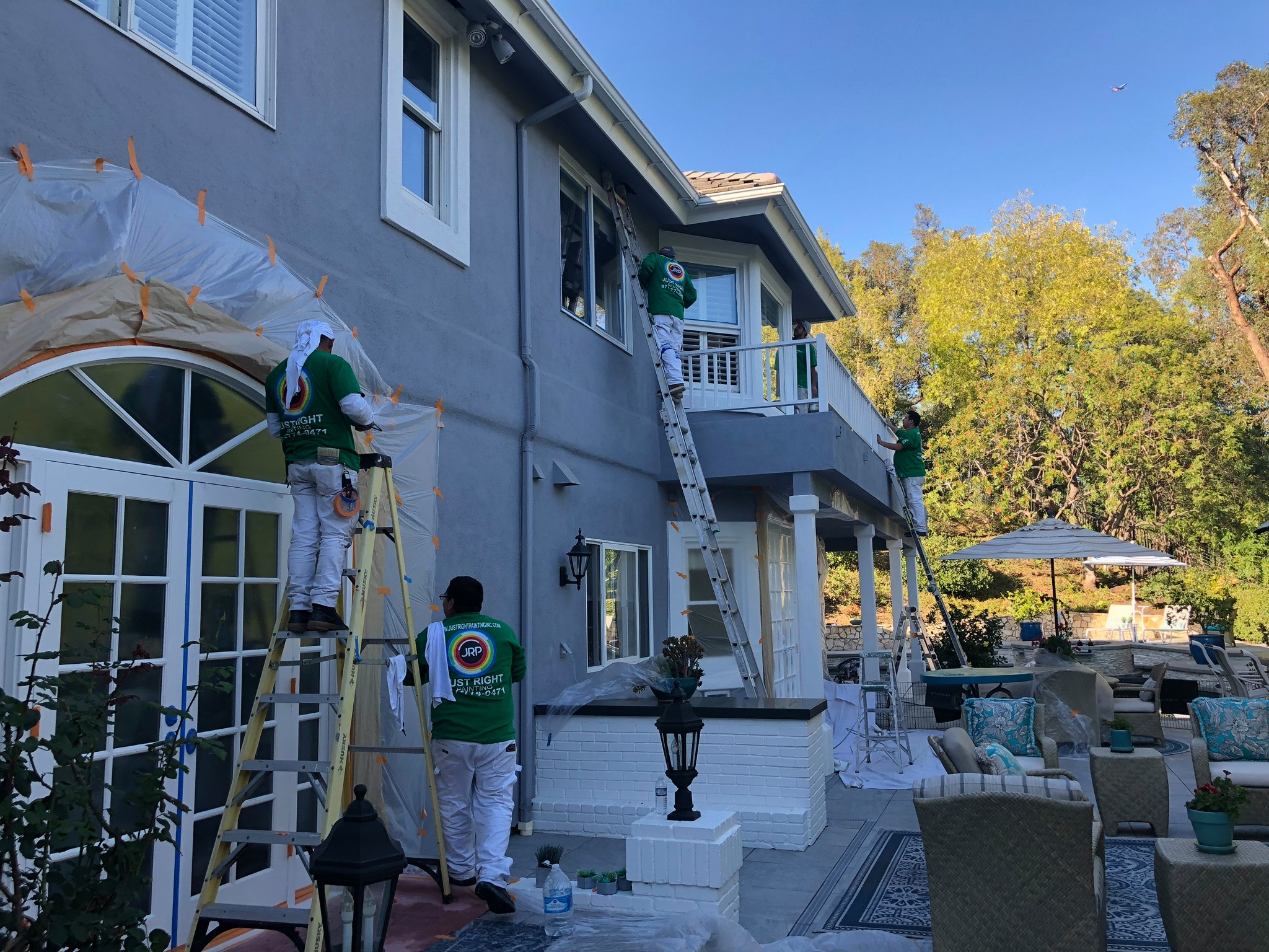 exterior building painting