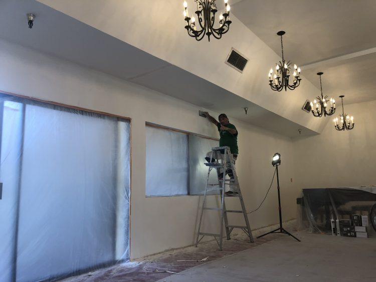 commercial painting in Malibu.